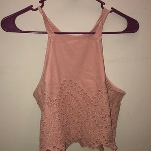 Crop tank top: Abercrombie & Fitch